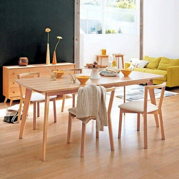 kensay dining table with or without extensions leonhard pfeifer. Black Bedroom Furniture Sets. Home Design Ideas