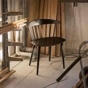 J104 massiv bøg Chair, Hay: genopdage funktionelt design, gennem en bred vifte af anvendelser.