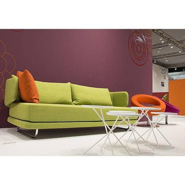 JASPER : un canapé-lit bien sous tous les angles. Une ligne aérienne et douce