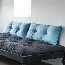 ROC, Pairs of cushions - 2 buttons - 80 cm - soft and fluffy - deco and design