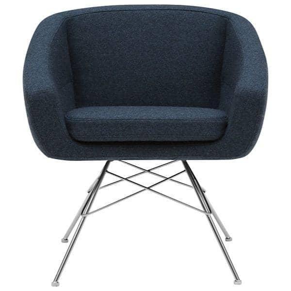 AIKO, komfortable, elegant og sofistikeret lænestol - Deco og design, SOFTLINE