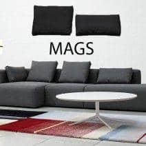 Coussin MAGS, deux dimensions, énorme choix de coloris
