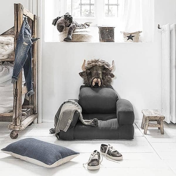 Letto Futon.Little Hippo Una Sedia Trasformabile Per Bambini Nordic Design
