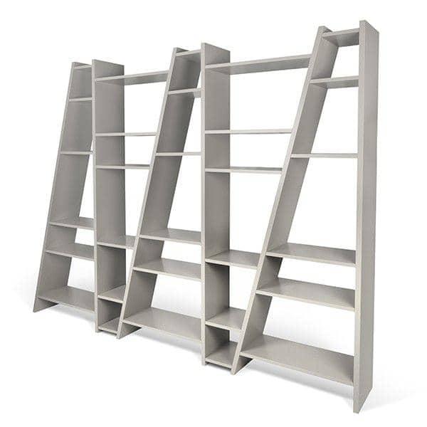 DELTA 1-5 στήλες ράφια, αναστρέψιμο σύστημα, ξύλινα ματ λακάρισμα - διακόσμηση και ο σχεδιασμός, TEMAHOME