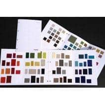 Tecidos amostras - As faixas completas: as amostras são 100% reembolsado quando eles são devolvidos.