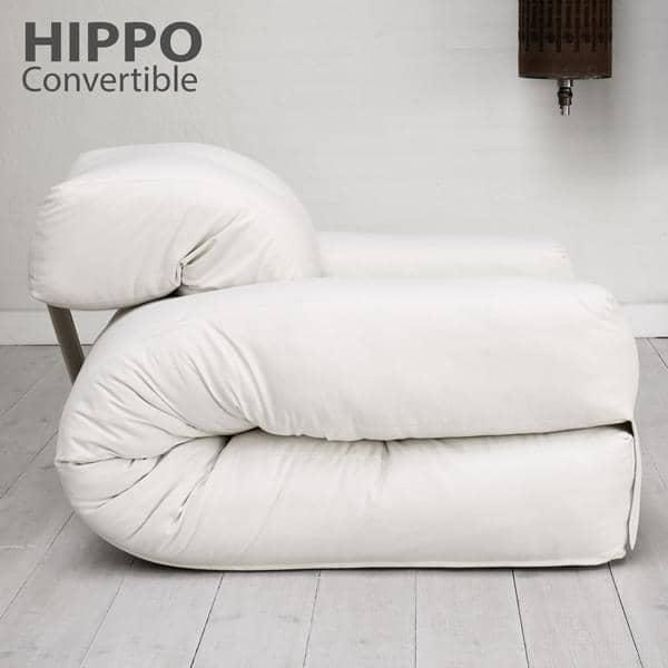 Hippo uma poltrona ou um sof que se transforma em uma for Sofa que se transforma em beliche