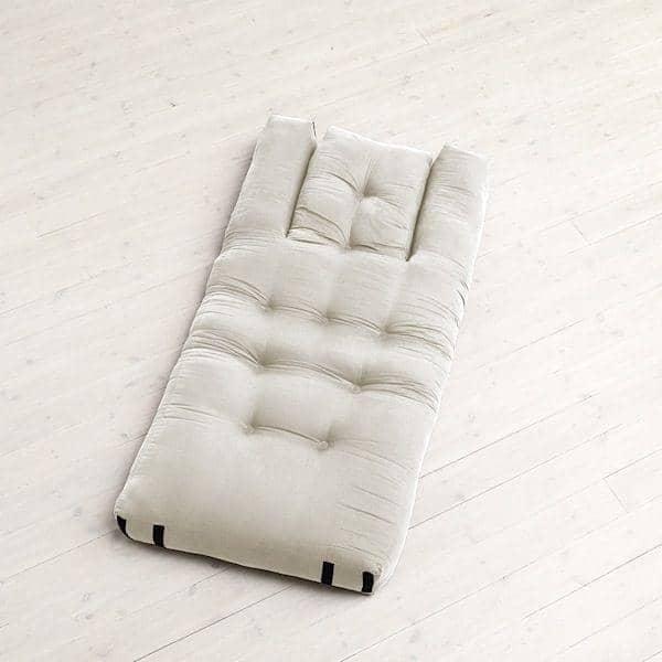 HIPPO, un sillón o un sofá, que se convierte en una cómoda cama supletoria futón en segundos - deco y diseño