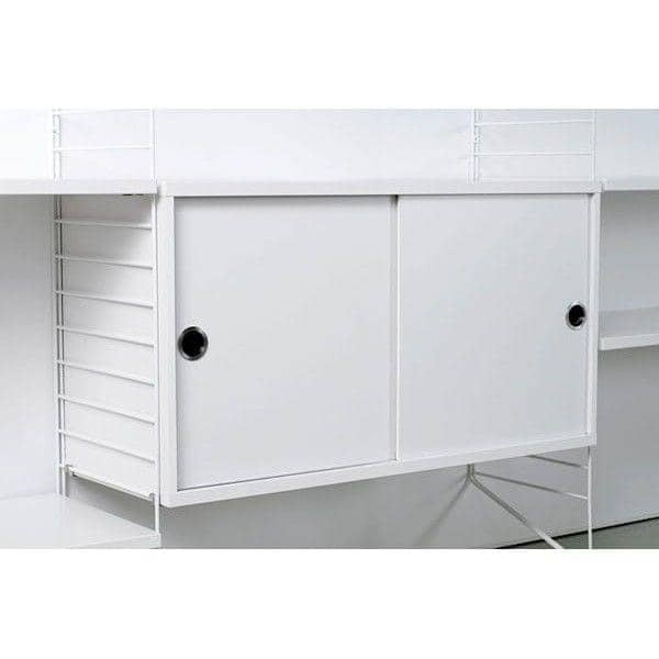 STRING SYSTEM, create your own modular storage system, from A to Z - Original version, designed and manufactured in Sweden