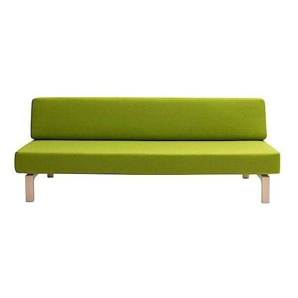 Le canap lit lazy un sofa convertible en lit en - Canape transformable en lit ...