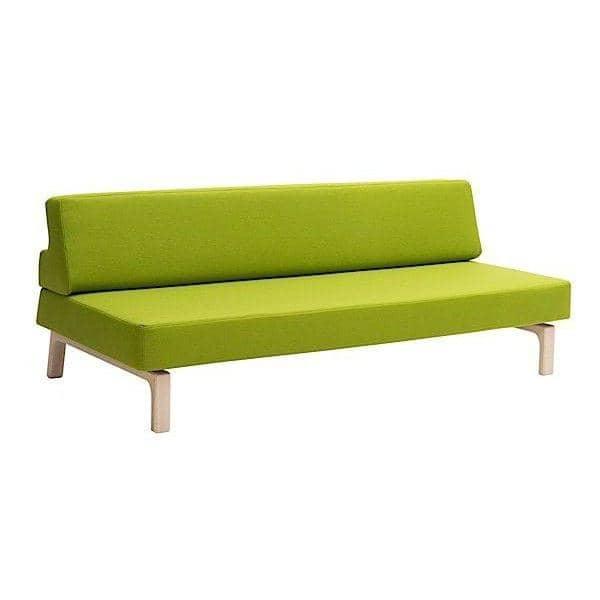 ベッド、ソファLAZY 、数秒でベッドにあなたのソファを変換します。デコとデザイン、 SOFTLINE