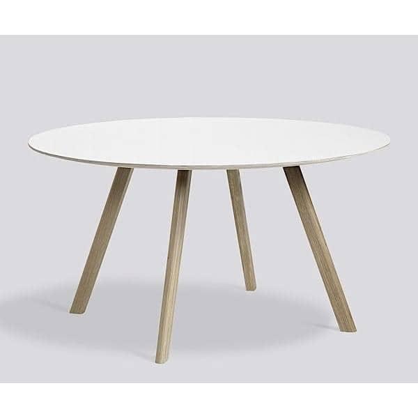 La mesa redonda de copenhague cph20 y chp25 hecha en - Mesas redondas de diseno ...