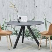 Die COPENHAGUE runden Tisch CPH20 und CHP25, aus Massivholz und Sperrholz, von Ronan und Erwan Bouroullec - Deko und Design