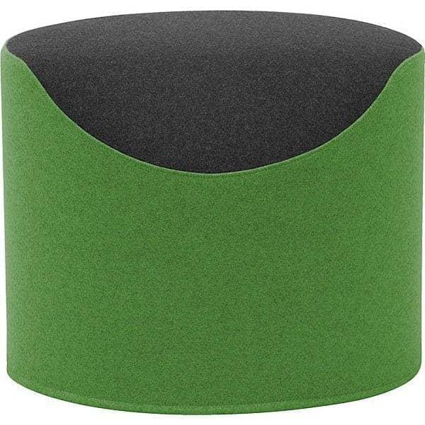 coral pouf bicolore tr s confortable et original softline. Black Bedroom Furniture Sets. Home Design Ideas