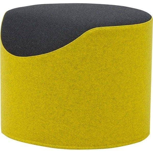 coral ein sehr bequemer und originaler bicolor ottoman softline. Black Bedroom Furniture Sets. Home Design Ideas