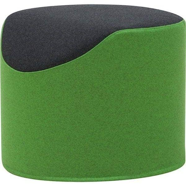 coral pouf bicolore tr s confortable et original softline. Black Bedroom Furniture Sets. Home Design Ideas