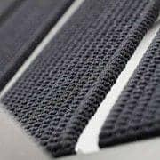 Sessel, ALCEDO - EB, Edelstahl und elastischen Gurten, getrimmt Armlehnen, Innen-und Außenbereich, in Europa gemacht TODUS - entworfen von JIRI SPANIHEL