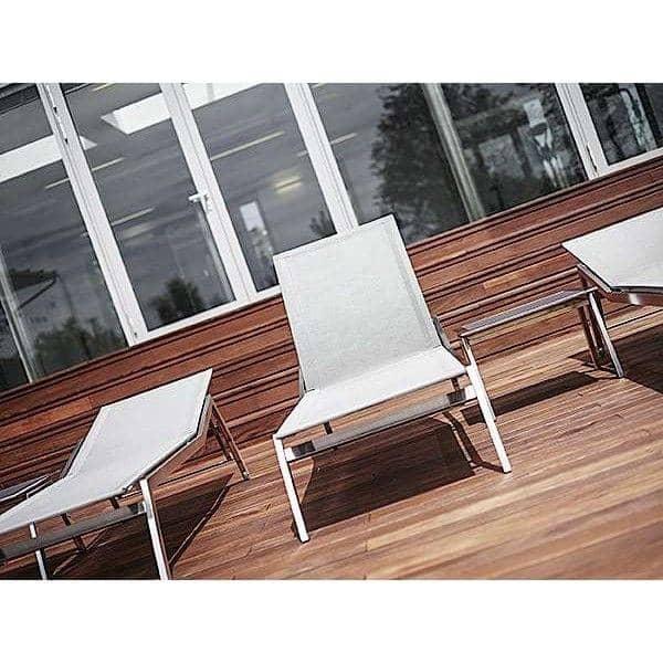 Sonnenliege Mit Integrierter Tischverlängerung, ALCEDO, Edelstahl Und  BATYLINE, Innen Und Außenbereich, In Europa Gemacht TODUS   Entworfen Von  ...