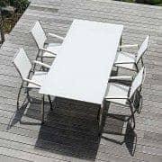 Mesa de jantar, ALCEDO FORNIX F1 by TODUS, TODUS atemporais, robustas e limpas, com ou sem extensão: perfeitas para usar no terraço ou na sua sala de estar