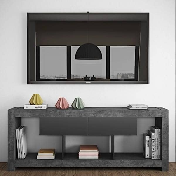 nara meuble tv temahome. Black Bedroom Furniture Sets. Home Design Ideas