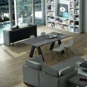KOBE, Sideboard modern, mit einer beeindruckenden Speicherkapazität. auch in konkreten Aspekt - designed by TEMAHOME