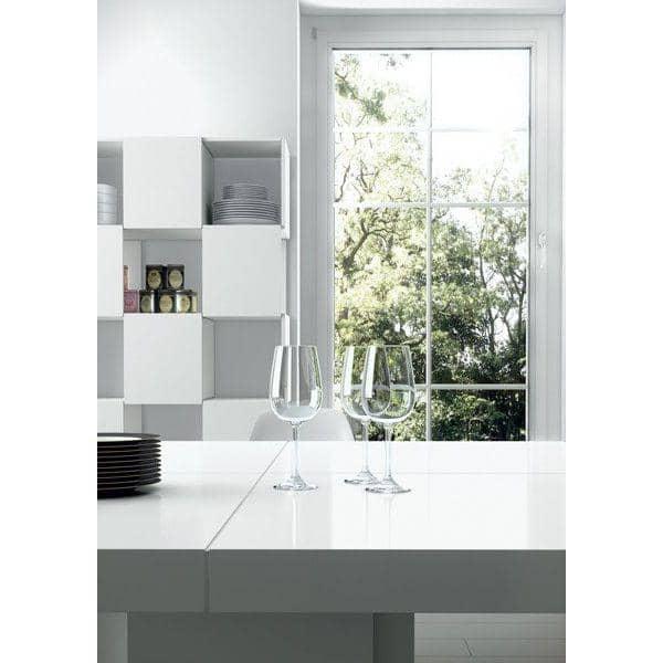 DUSK, Table carrée, en 130 ou 150 cm, presque une sculpture ! - designer : DÉLIO VICENTE