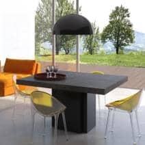 DUSK, quadrado mesa de jantar, 130 ou 150 cm, quase uma escultura! - Projetado por Delio VICENTE