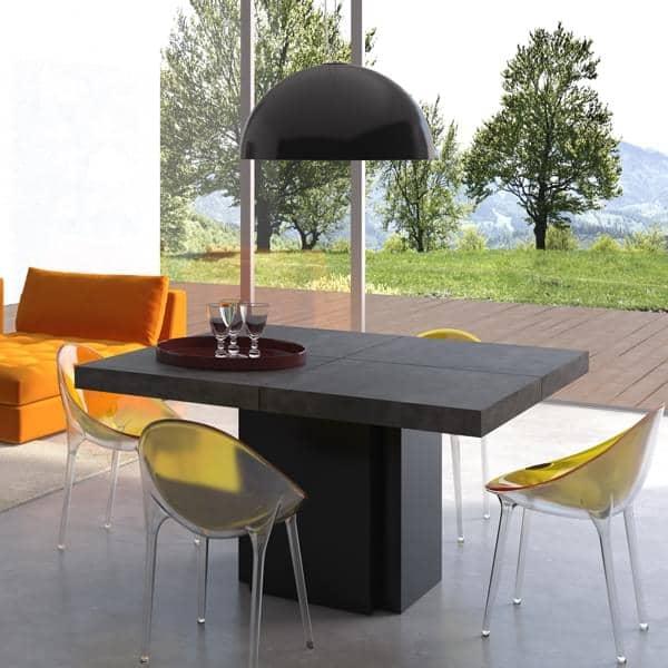 DUSK, firkantet spisebord, 130 eller 150 cm, TEMAHOME