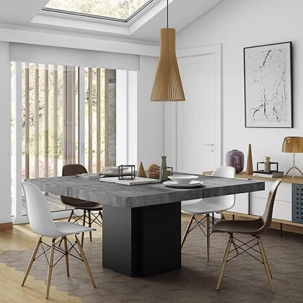 Dusk tavolo da pranzo quadrato 130 o 150 cm temahome dusk tavolo da pranzo 150 x 150 - Tavolo da pranzo quadrato ...