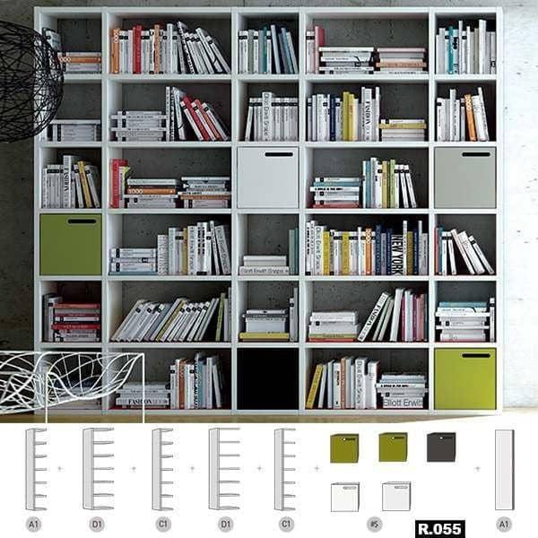 POMBAL DIY : créez votre système d'étagères compartimenté sur mesure, de A à Z. Bibliothèque, meuble TV, solutions de rangements