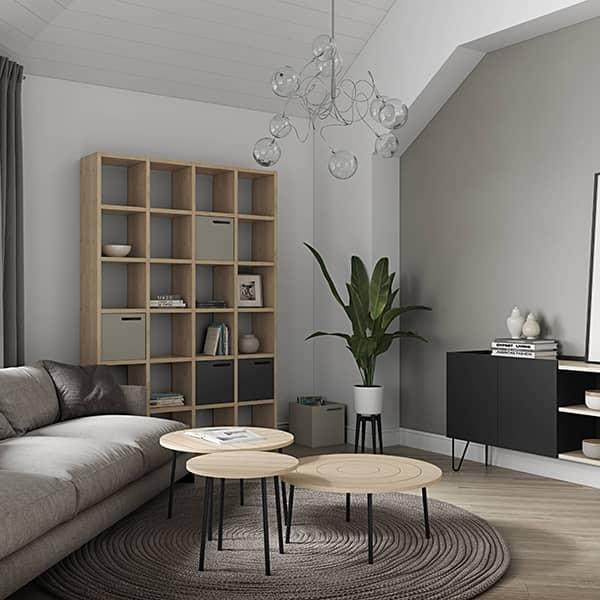 pombal diy syst me d 39 tag res sur mesure temahome. Black Bedroom Furniture Sets. Home Design Ideas