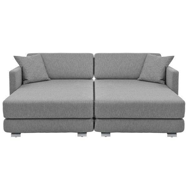 LOUNGE Sofa, STEELCUT, DIVINA, HALLINGDAL, konvertible Sofa, 3 pers, Chaiselong: smukke kombinationer - Deco og nordisk design, SOFTLINE