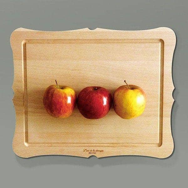 L'ART DE LA DECOUPE, chopping board, solid beech, eco-design