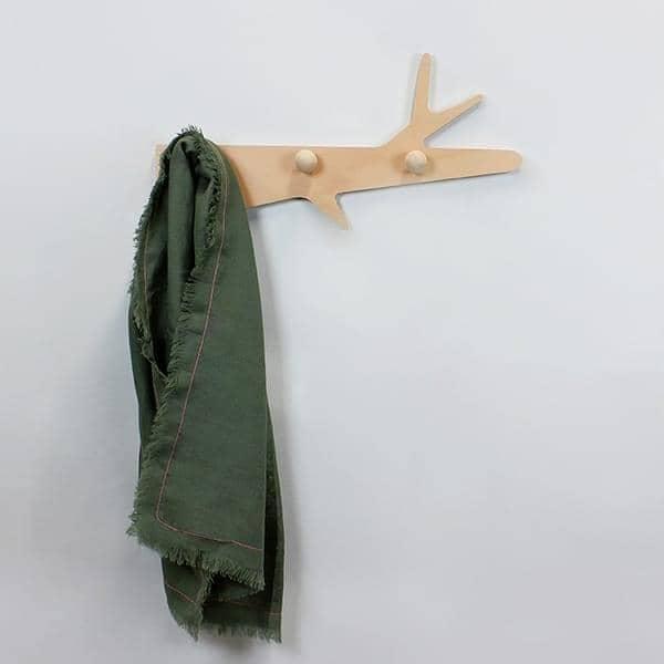 LA BRANCHE, frakk rack, bøk kryssfiner, økodesign