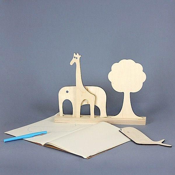 animaux juguetes y decoracin madera de haya ecodiseo animaux