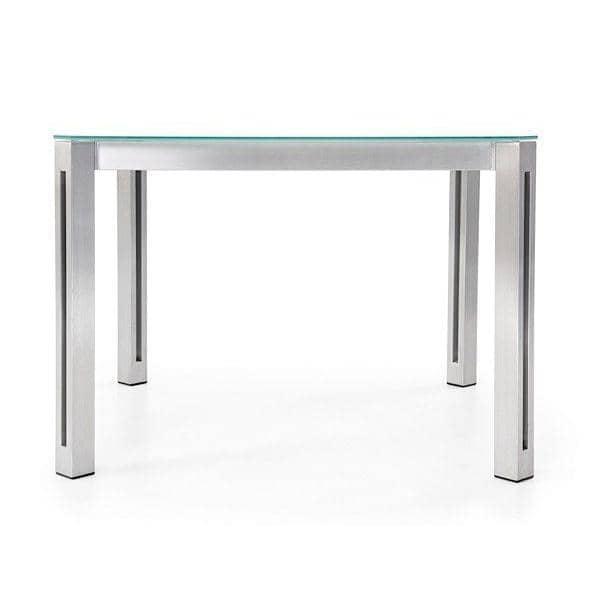 ARIA mesas de comedor o mesa de centro, versión de cristal claro, TODUS
