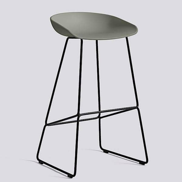 tabouret de bar about a stool r f aas38 hay. Black Bedroom Furniture Sets. Home Design Ideas