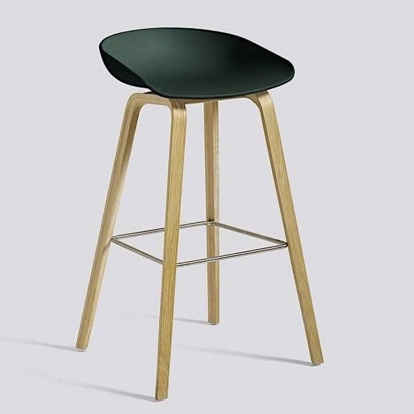 ABOUT A STOOL, stool ved HAY - ref. AAS32 - AAS32, polypropylen skall - HEE WELLING og HAY