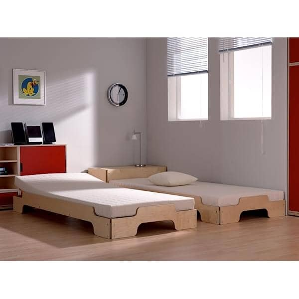 stackable bed stack by rolf heide since 1967 a timeless concept extrem comfort and a pure and. Black Bedroom Furniture Sets. Home Design Ideas