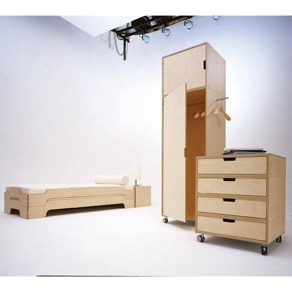 تكويم السرير STACK التي كتبها ROLF HEIDE منذ عام 1967، وهو مفهوم الخالدة والراحة اكستريم وخط نقية والحديث.