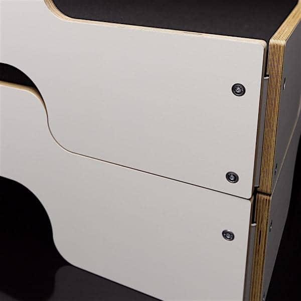 Letto impilabile STACK da ROLF HEIDE dal 1967, un concetto senza tempo, il comfort extrem e una linea pura e moderna.