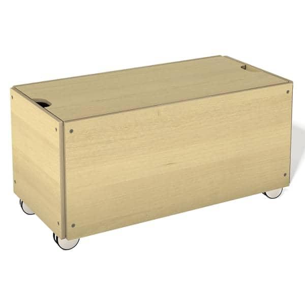 STACK多くの仕上げで提案されている固体積層木製の収納ボックス、