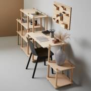 INPUT en fleksibel og leken arrangør, nyttig hver dag, designet av Anne Holm & Sigrid Smetana, for Woud