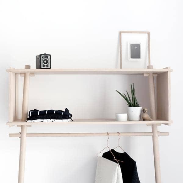 TÖJBOX, mais do que um cabide, uma peça perfeita de mobiliário que espanta. Projeto Eco, produzido by estúdio MADE BY MICHAEL para WOUD