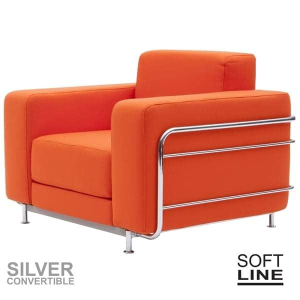 Silver Ein Verwandelbarer Sessel Softline