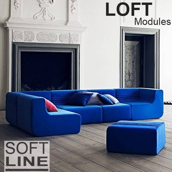 LOFT, un sofá modular, SOFTLINE