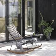 Schaukelstuhl, CLICK SYSTEM, Harz und Stahl, im Freien, von HOUE