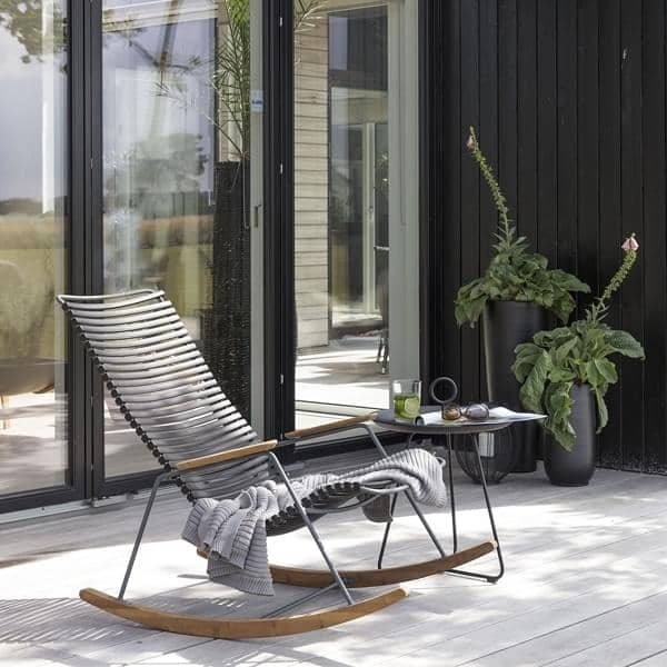 Fantastic Rocking Chair Click System Resin And Steel Outdoor Lamtechconsult Wood Chair Design Ideas Lamtechconsultcom