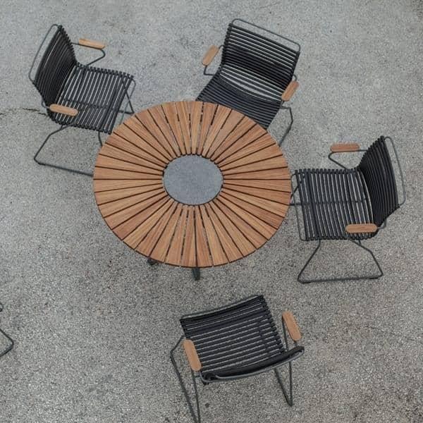 Tavolo Rotondo Per Esterno.Tavolo Da Pranzo Rotondo Circle Houe