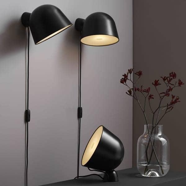 KUPPI, מנורת קיר, מתכת, מתוחכם, מגנטי, עיצוב. WOUD