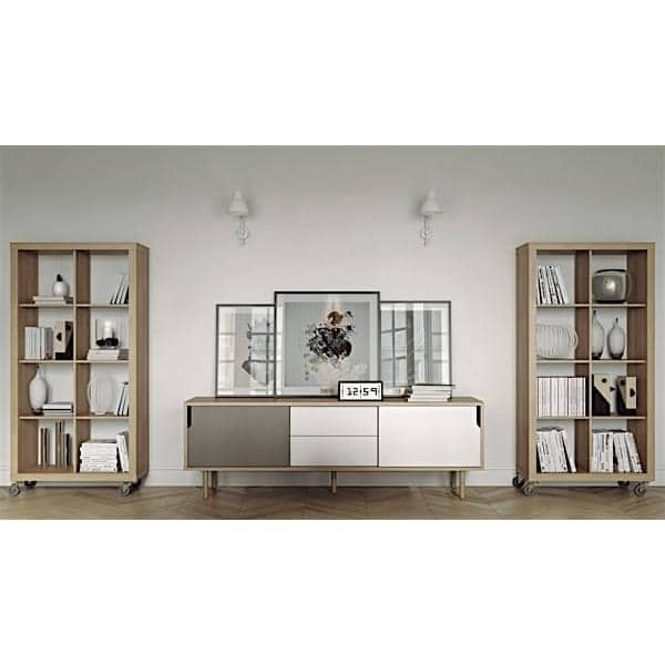 DANN, sideboards with sliding doors, Rodolphe CASTELLANI